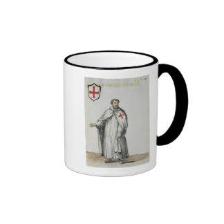 Un Templar veneciano Tazas De Café