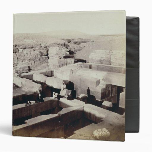 Un templo excavado en el pie de la esfinge, 4ta