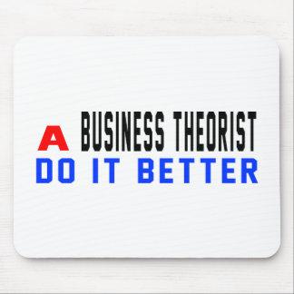 Un teórico del negocio mejora tapetes de raton