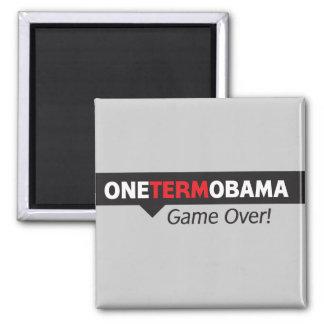 Un término Obama - juego encima Imanes Para Frigoríficos