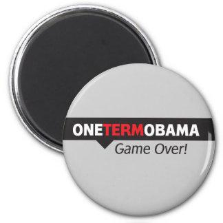 Un término Obama - juego encima Imán De Nevera
