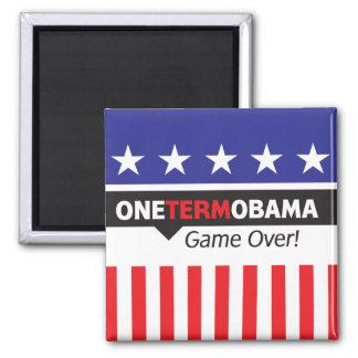 Un término Obama - juego encima Imán De Frigorífico