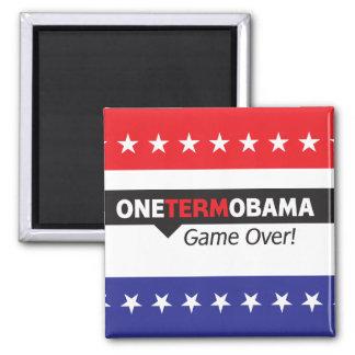 Un término Obama - juego encima Iman Para Frigorífico