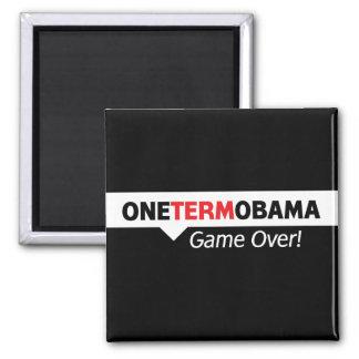 Un término Obama - juego encima Iman De Nevera