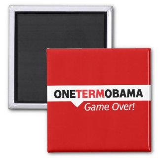 Un término Obama - juego encima Imanes De Nevera