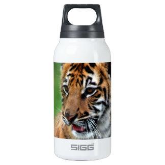 Un tigre de bebé lindo botella isotérmica de agua