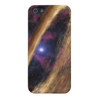 Un tipo de estrella muerta llamó un pulsar iPhone 5 funda
