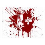 Un tipo de sangre positivo para los vampiros y los postales