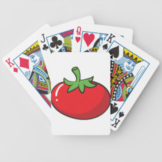 un tomate baraja de cartas