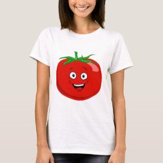 Un tomate muy feliz playera
