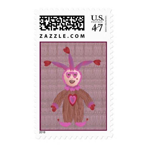 Un tonto para el amor sellos postales