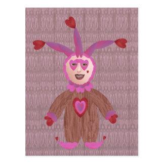 Un tonto para el amor tarjetas postales