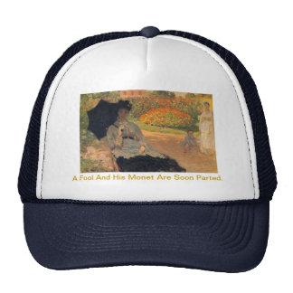 Un tonto y su Monet son sombrero pronto dividido Gorras