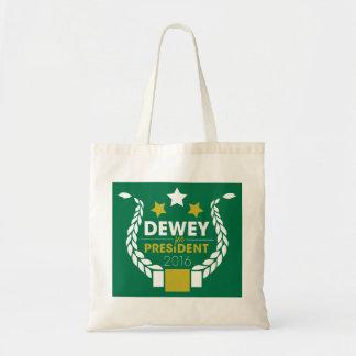 ¡Un tote de Dewey! Bolsa Tela Barata