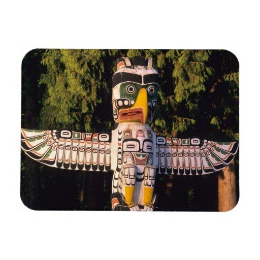 Un tótem en Vancouver, Canadá Iman Rectangular