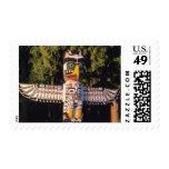 Un tótem en Vancouver, Canadá Timbres Postales