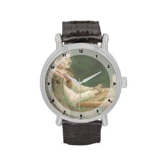Un trabajador francés de Pavel Filonov Reloj De Mano