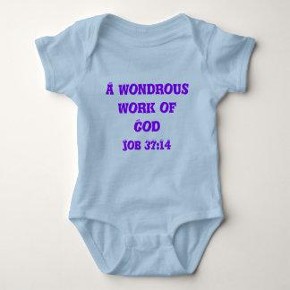 Un trabajo maravilloso de dios camisetas