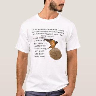 ¡Un trago que lleva un coco! Playera
