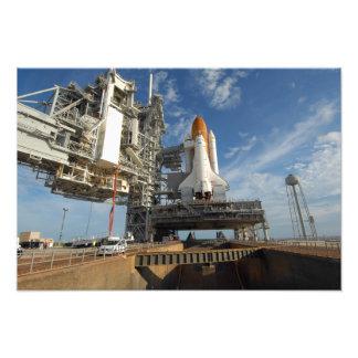 Un transbordador espacial la Atlántida de la Arte Con Fotos