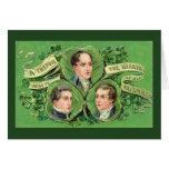 Un trébol estimado al corazón de todos los irlande tarjetas
