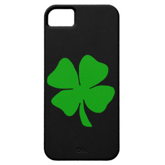 Un trébol iPhone 5 funda