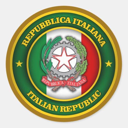 Un tributo a Italia Etiqueta Redonda