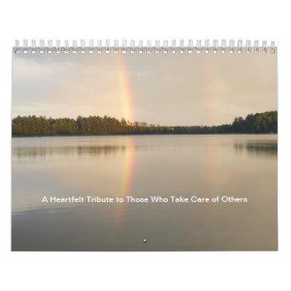 Un tributo sentido a los que cuidan para otros calendario