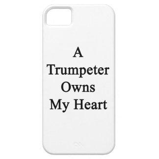Un trompetista posee mi corazón iPhone 5 funda