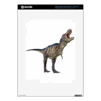 Un Tyrannosaurus Rex que mira para arriba y que iPad 3 Pegatina Skin