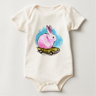Un un pío Seater Mamelucos De Bebé