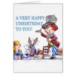 ¡Un Unbirthday muy feliz a usted! Felicitacion