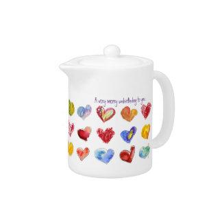 Un UnBirthday muy feliz a usted pote del té