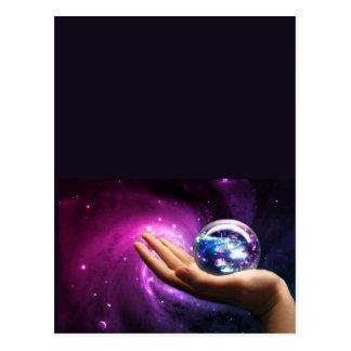 Un universo dentro de productos postales