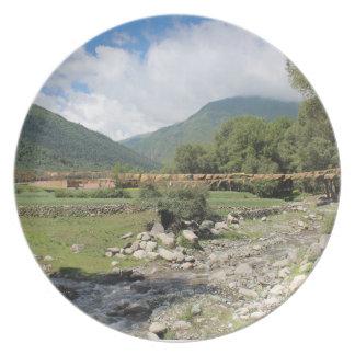 Un valle ocultado de Amdo Platos