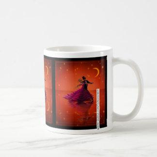 Un vals rojo tazas