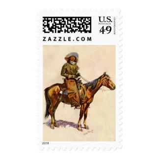 Un vaquero de Arizona por arte occidental del Envio