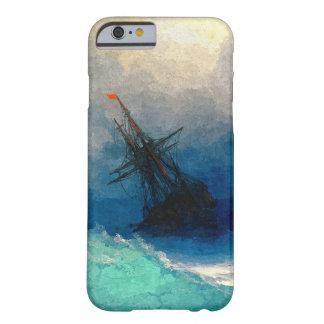 Un velero en una tormenta funda de iPhone 6 barely there