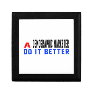 Un vendedor demográfico mejora caja de recuerdo