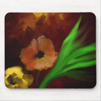 Un verano florece cojín de ratón mouse pad