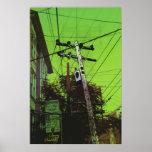 Un verde más verde Lex de la calle Aka Poster