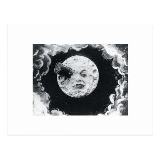 Un viaje a la luna 1902 postal