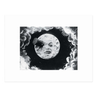 Un viaje a la luna 1902 tarjetas postales