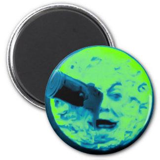 Un viaje a la luna (aguamarina Sci retro marino Fi Iman