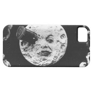 Un viaje a la luna iPhone 5 carcasas