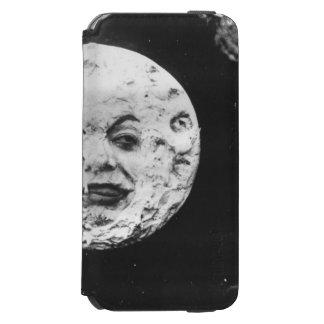 Un viaje a la luna funda billetera para iPhone 6 watson