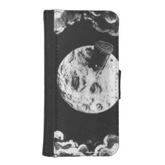 Un viaje a la luna billetera para iPhone 5