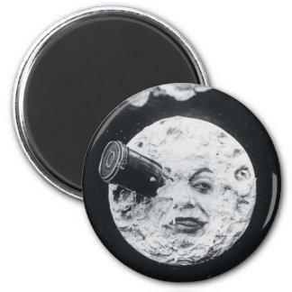 Un viaje a la luna imán para frigorifico