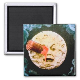 Un viaje a la luna imán de frigorifico