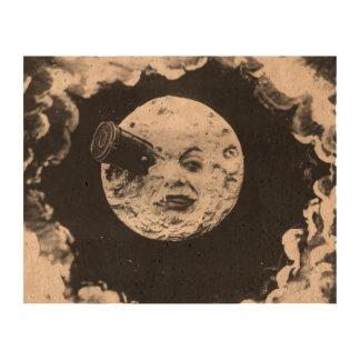 Un viaje a la luna papel de corcho